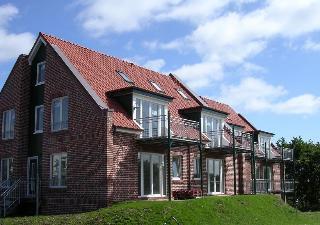 Das Rikus-Hus von Außen, Ihre Ferienwohnung auf Baltrum